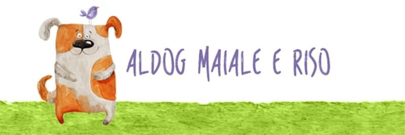 Aldog Maiale e Riso è un alimento completo con un'unica fonte proteolipidica animale supportata da un monocereale