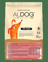 Aldog Salmon and rice 3 kg fronte