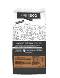 mockup sacco FREEDOG FRONTE rich in fish