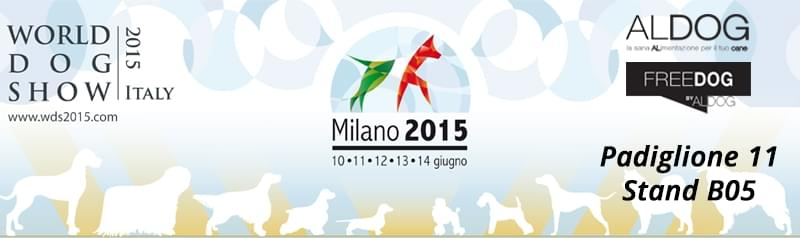 World Dog Show 2015 Milano Aldog e Freedog